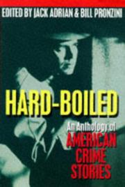 HARD-BOILED by Bill Pronzini