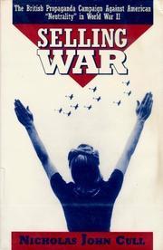 SELLING WAR by Nicholas John Cull