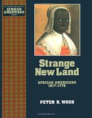 STRANGE NEW LAND by Peter H. Wood