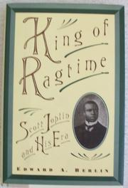 SCOTT JOPLIN by Edward W. Berlin