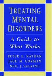 TREATING MENTAL DISORDERS by Peter E. Nathan