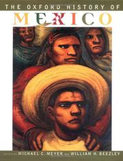 THE OXFORD HISTORY OF MEXICO by Michael C. Meyer