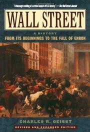 WALL STREET by Charles Geisst