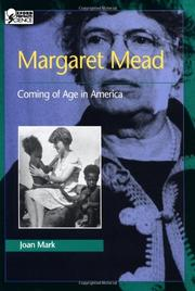 MARGARET MEAD by Joan Mark