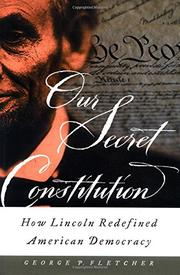 Book Cover for OUR SECRET CONSTITUTION