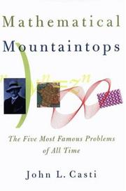 Book Cover for MATHEMATICAL MOUNTAINTOPS