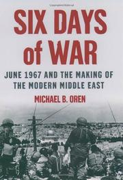 Cover art for SIX DAYS OF WAR