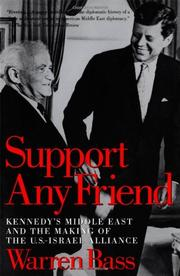 SUPPORT ANY FRIEND by Warren Bass