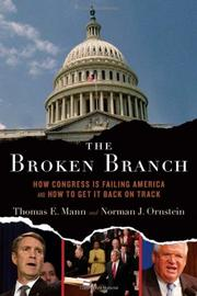 Cover art for THE BROKEN BRANCH