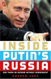 Book Cover for INSIDE PUTIN'S RUSSIA