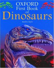 OXFORD FIRST BOOK OF DINOSAURS by Barbara Taylor