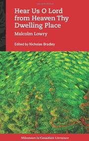 HEAR US O LORD FROM HEAVEN THY DWELLING PLACE by Malcolm Lowry