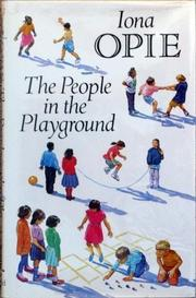 Cover art for THE PEOPLE IN THE PLAYGROUND