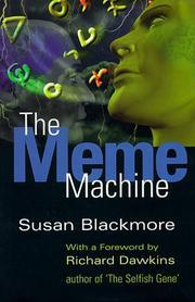 THE MEME MACHINE by Susan Blackmore