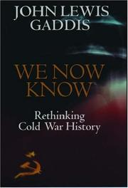 Book Cover for WE NOW KNOW