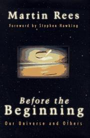 Cover art for BEFORE THE BEGINNING