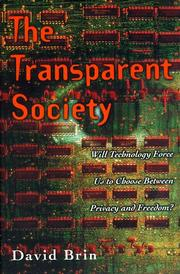 Cover art for THE TRANSPARENT SOCIETY