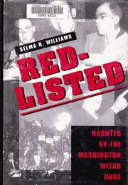 RED-LISTED by Selma R. Williams
