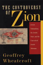 Cover art for THE CONTROVERSY OF ZION