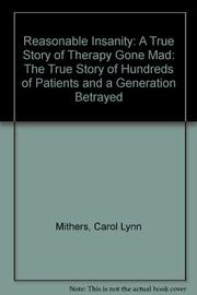 THERAPY GONE MAD by Carol Lynn Mithers