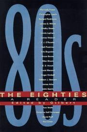 THE EIGHTIES by Gilbert T. Sewall