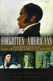 FORGOTTEN AMERICANS by Willard Sterne Randall