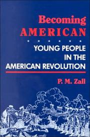 BECOMING AMERICAN by P.M. Zall