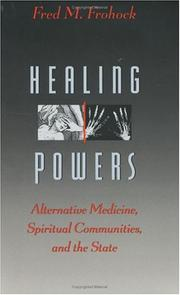 Cover art for HEALING POWERS
