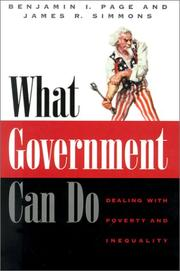 Cover art for WHAT GOVERNMENT CAN DO