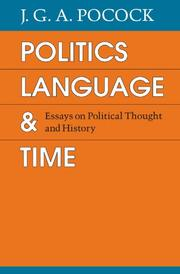 politics language and time essays on political thought and politics language and time essays on political thought and history