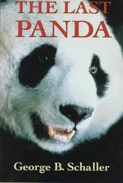 Cover art for THE LAST PANDA
