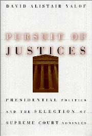 Cover art for PURSUIT OF JUSTICES