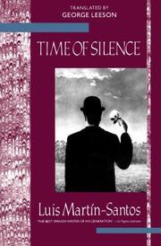 TIME OF SILENCE by Luis Martin-Santos