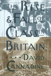 Cover art for THE RISE AND FALL OF CLASS IN BRITAIN