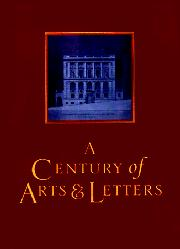 A CENTURY OF ARTS AND LETTERS by John Updike