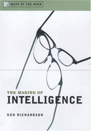 THE MAKING OF INTELLIGENCE by Ken Richardson