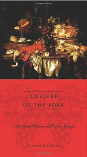 CULTURE OF THE FORK by Giovanni Rebora