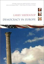 DEMOCRACY IN EUROPE by Larry Siedentop
