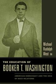 Cover art for THE EDUCATION OF BOOKER T. WASHINGTON