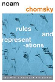 RULES AND REPRESENTATIONS by Noam Chomsky