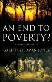 AN END TO POVERTY? by Gareth Stedman Jones