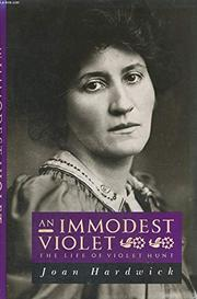 AN IMMODEST VIOLET by Joan Hardwick