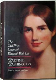 WARTIME WASHINGTON by Virginia Jeans--Ed. Laas