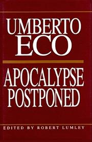 Cover art for APOCALYPSE POSTPONED