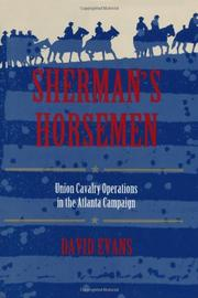 SHERMAN'S HORSEMEN by David Evans