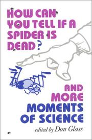 HOW CAN YOU TELL IF A SPIDER IS DEAD? by Don Glass