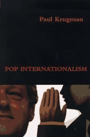 POP INTERNATIONALISM by Paul Krugman
