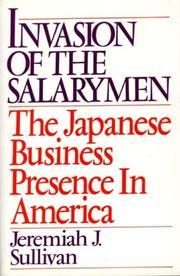 INVASION OF THE SALARYMEN by Jeremiah J. Sullivan
