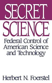SECRET SCIENCE by Herbert N. Foerstel