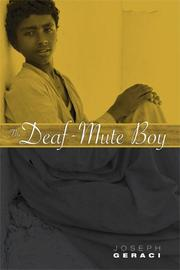 THE DEAF-MUTE BOY by Joseph Geraci